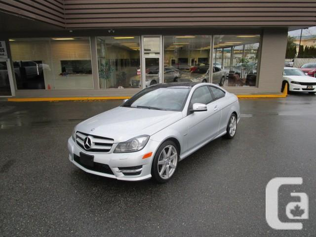 Us 2012 mercedes benz c350 coupe navigation leather for Mercedes benz financial credit score