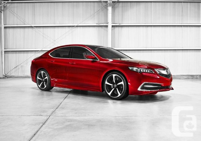 US$29,990 2015 Acura TLX ($5000 rebate) **Limited time