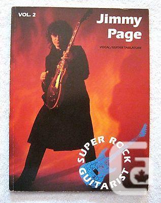 US$29.99 1989 - Jimmy Page - Super Rock Guitarist -