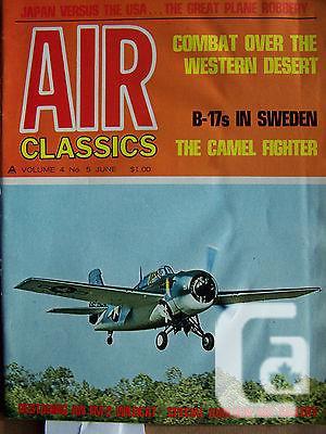 US$2 Air Classics Magazine June Vol. 4 Issue 5 1968