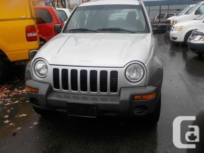 US$3,300 2002 Jeep Liberty Sport 4dr 4WD SUV