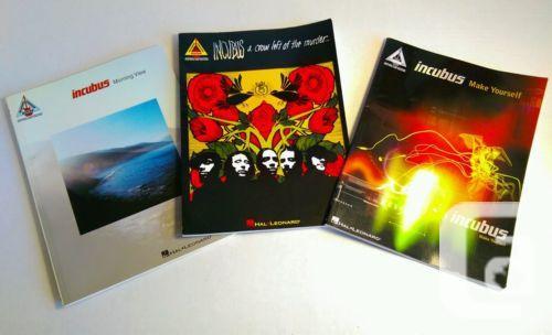 US$34.99 3 Incubus Music Guitar Books Morning View Make