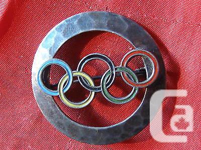US$39.95 Orig. Old German Pin 11.Olympiade Berlin 1936