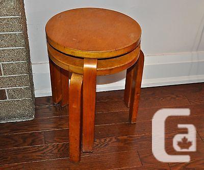 Us 1940s 2 alvar aalto vintage mid century modern chairs 3 for Mid century modern furniture new york