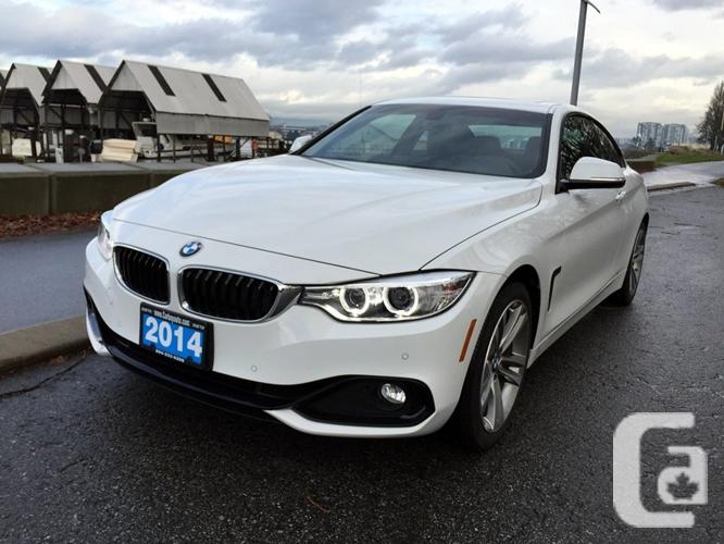 US$43,900 2014 BMW 428i xDrive Coupe With Nav