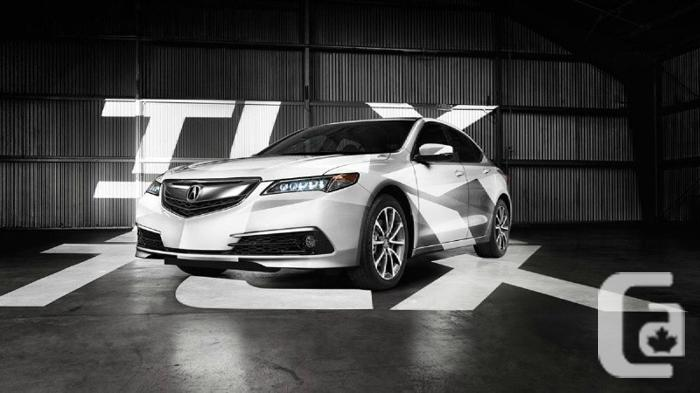 US$44,190 2016 Acura TLX SH-AWD Tech and Elite Brand