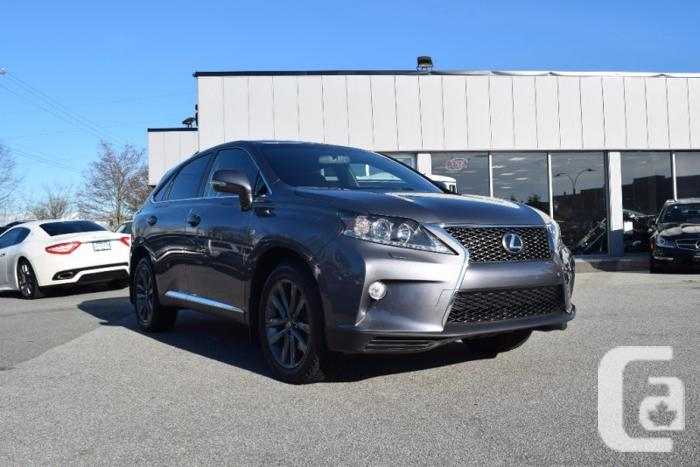 us 2014 lexus rx 350 f sport no accidents for sale in richmond british columbia classifieds. Black Bedroom Furniture Sets. Home Design Ideas