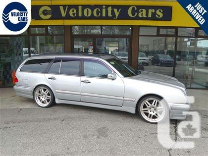 Us 1998 mercedes benz e320 care class wagon 99 kms 7 seat for 99 mercedes benz e320