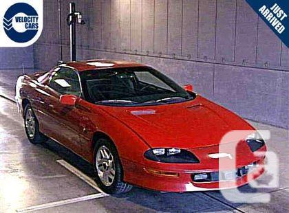 US$5,990 1996 Chevrolet Camaro CarCoupe V6 200hp 34K's