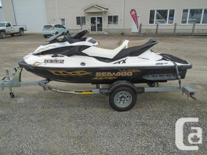 US535 - 2012 Sea-Doo GTX 155 with Trailer for sale for sale in