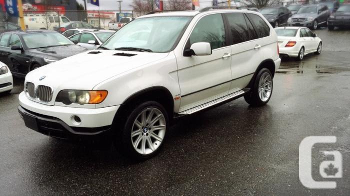 US$6,800 2001 BMW X5 AWD 4.4L , Sport PKG