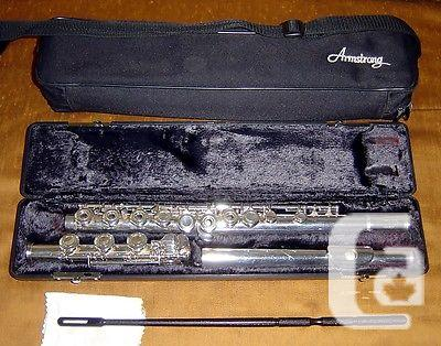 US$650 Armstrong 800BOF Sterling Open Hole Flute With