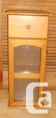 US$69.95 Vintage STORAGE CABINET Jam Cabinet SPICE Jar
