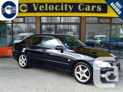 us 2002 lexus is 300 toyota altezza rs200 manual 200hp rhd analogue of for sale in burnaby. Black Bedroom Furniture Sets. Home Design Ideas