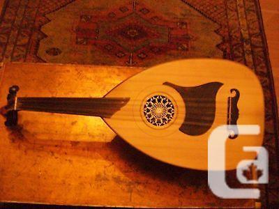US$700 Persian Barbat long neck 10 string lute fretless & US Persian Barbat long neck 10 string lute fretless guitar for ...