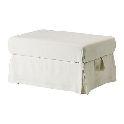 US$79 IKEA EKTORP - Slipcover for Footstool Stenåsa