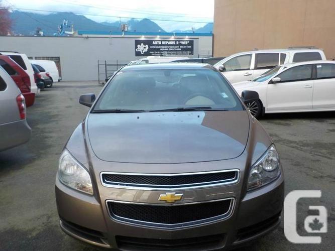 US$8,800 2012 Chevrolet Malibu