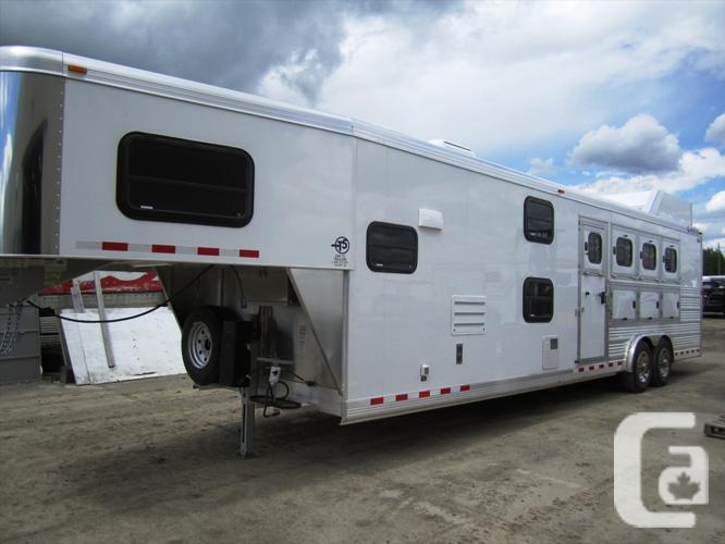 US$88,395 2015 Cimarron Norstar 4 Horse Gooseneck