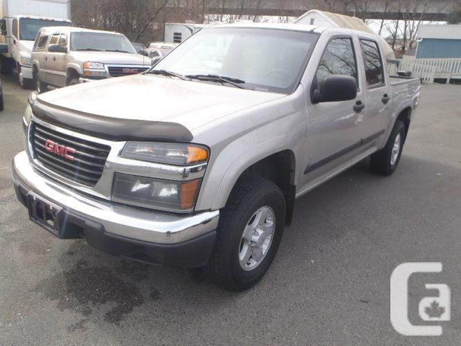 us 2006 gmc canyon crew cab 4wd sle for sale in maple ridge british columbia classifieds. Black Bedroom Furniture Sets. Home Design Ideas