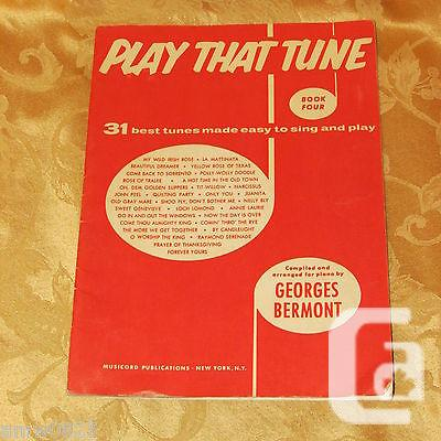 US$9.99 1956 Play That Tune Sheet Music Book 31 Best
