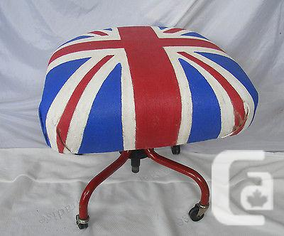 US$99.95 Custom Made Union Jack Ottoman