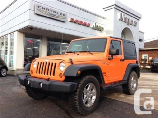 used 2012 jeep wrangler sport for sale in niagara falls ontario classifieds. Black Bedroom Furniture Sets. Home Design Ideas