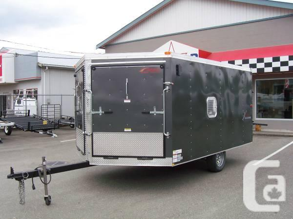 Modular Atv Trailers : Used mirage enclosed atv snowmobile trailer for