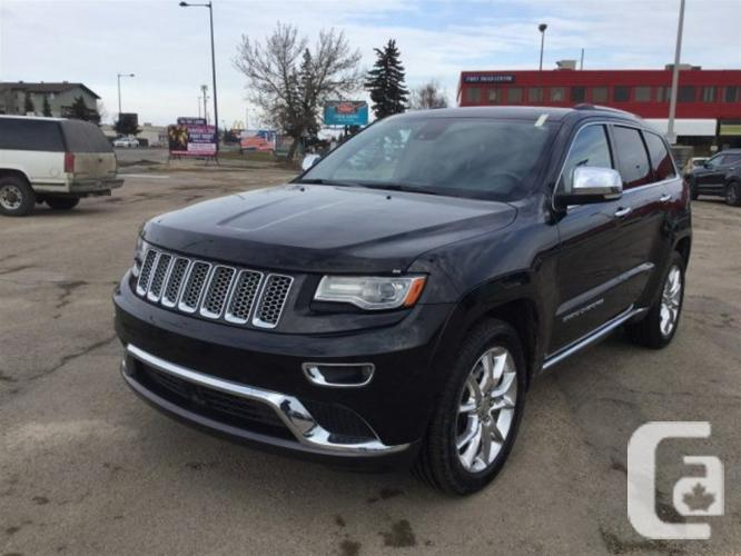 used 2014 jeep grand cherokee summit for sale in edmonton alberta. Cars Review. Best American Auto & Cars Review