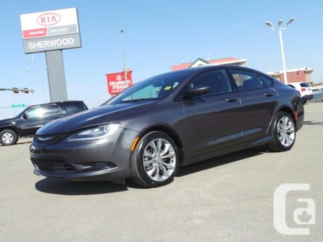 used 2015 chrysler 200 s sport great price financing available bi weekly for sale in sherwood