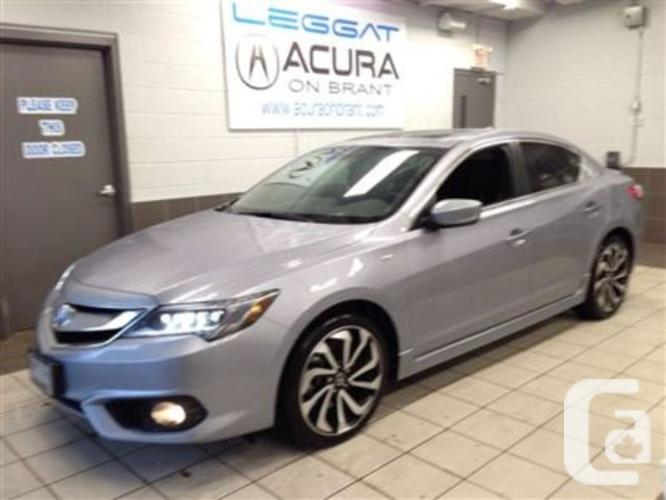 used 2016 acura ilx a spec for sale in burlington ontario classifieds. Black Bedroom Furniture Sets. Home Design Ideas
