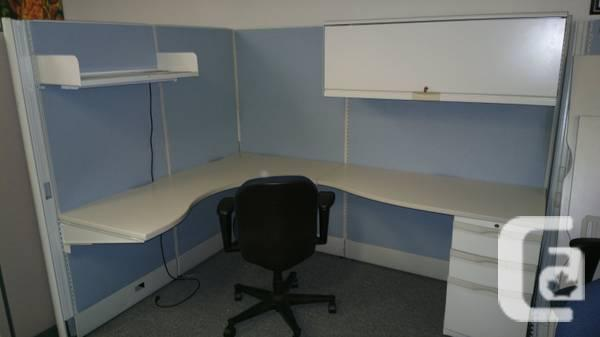 Used and new workstations, panels, dividers from - $40