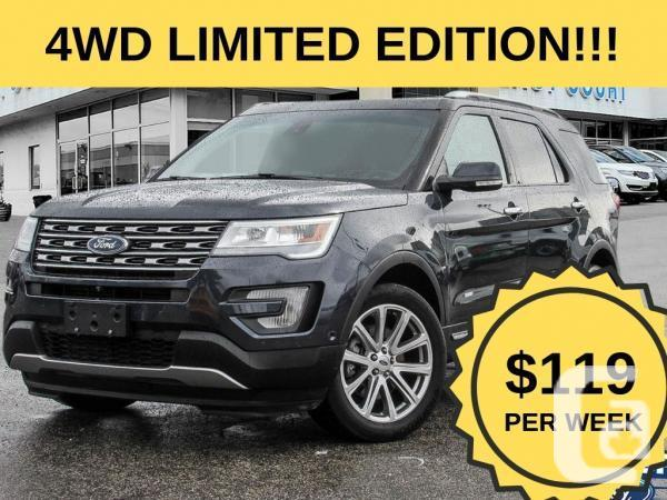 Used Ford Explorer, 66551 Km, Blue, Toronto