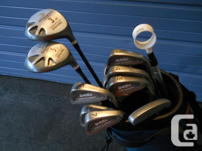 Used Golf Bag & RH Irons - Used Golf Bag & LH Irons