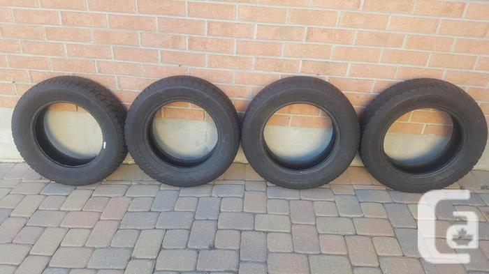 Used Goodyear Nordic Winter Tires - 185/65R15 in