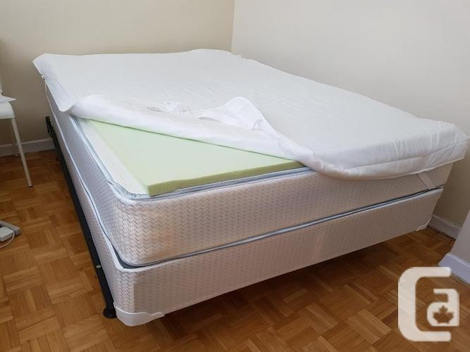 Used mattress, size queen (Available at the end of