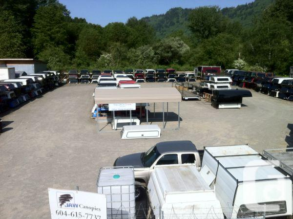 Used truck canopies huge selection for sale in chilliwack british columbia classifieds