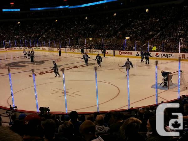 Vancouver Canucks vs Detroit Red Wings Lower Bowl -