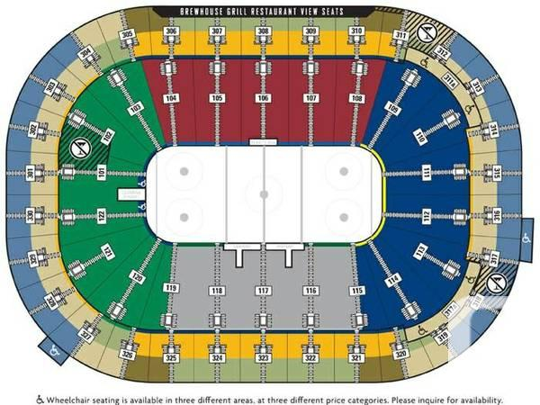 Vancouver Canucks vs Detroit Red Wings Oct. 30th - $75
