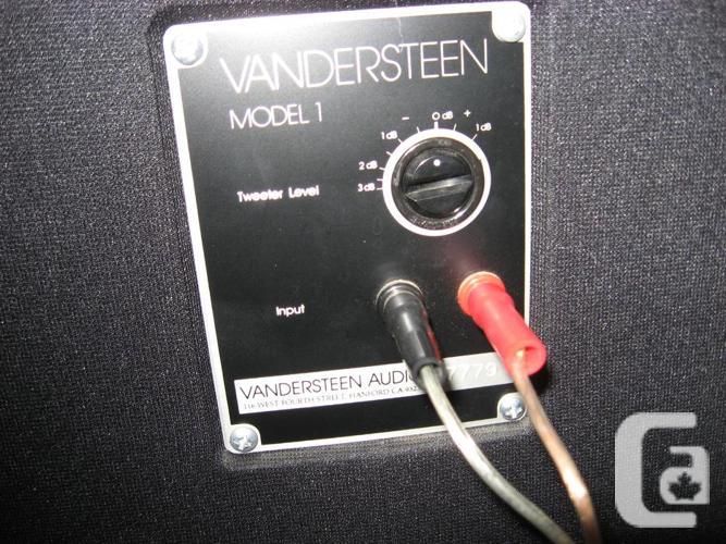 Vandersteen 1B Speakers