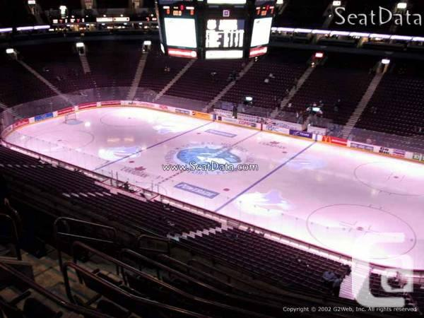 Various Canucks Tickets for Sale **CHEAP** - $80