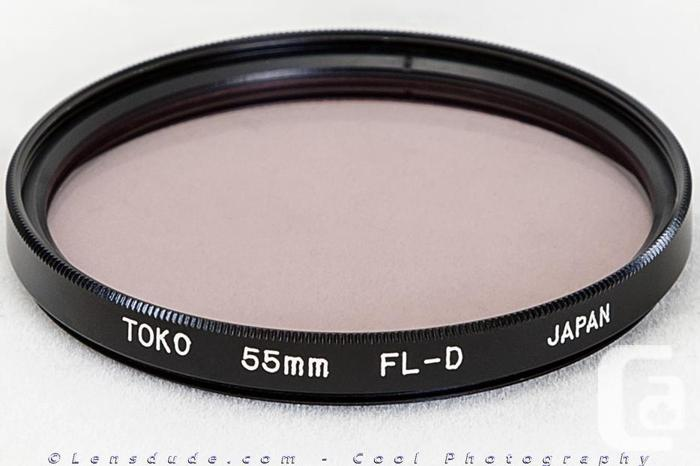 Various Filters for 49mm, 55mm, 58mm and 67mm Lenses