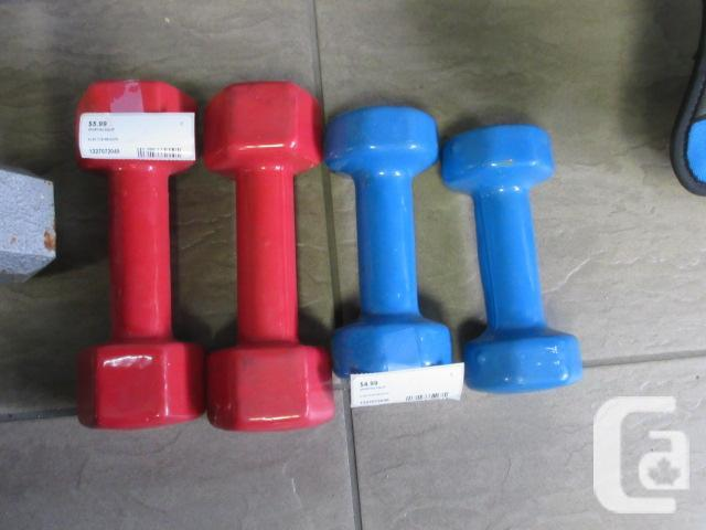Various Hand weights