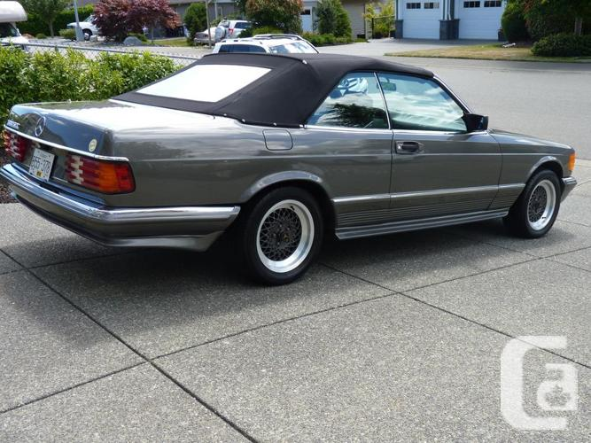 Very Rare SGS Marbella 500SEC in Courtenay, British Columbia for sale
