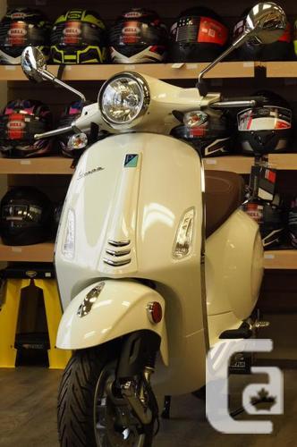 VESPA*** Primavera 49cc Hand Built in Italy  Many Colors** in Nanaimo,  British Columbia for sale