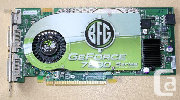 Video card   BFG GeForce 7800 GTX OC