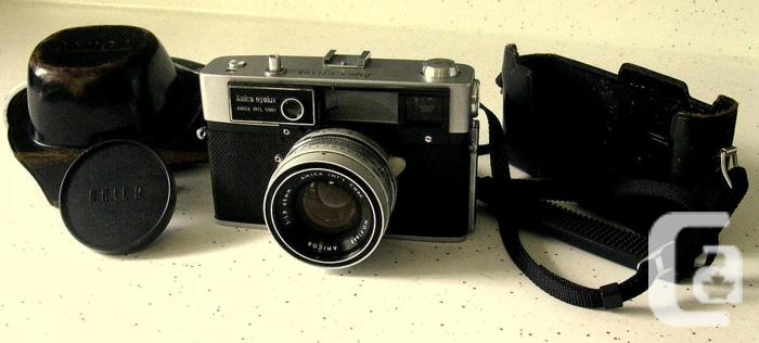 """VINTAGE 1960's AMICA""""EYELUX""""CAMERA WITH"""