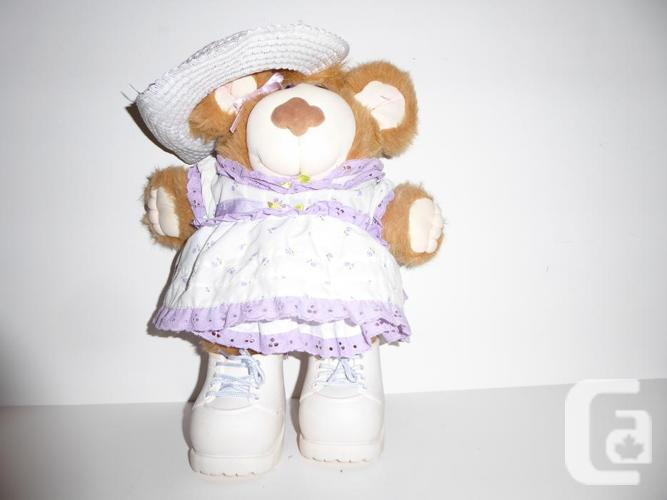 "VINTAGE 1985 ""LILA CLAIRE"" FURSKINS TEDDY BEAR"
