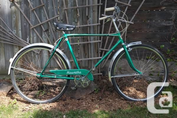 Vintage 3 speed bicycle, excellent shape, tuned up -