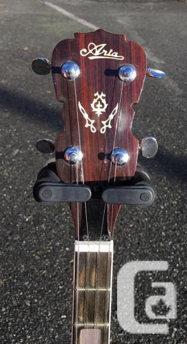 Vintage Aria 5 String Banjo