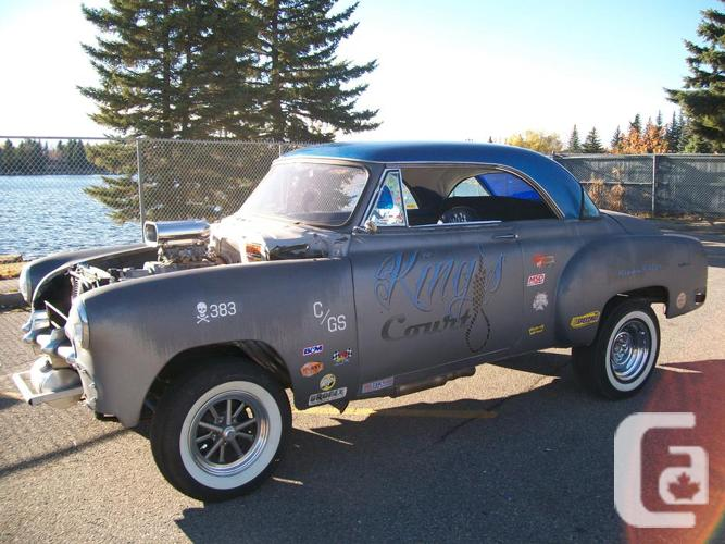 VINTAGE CHEVY BELAIR 2DR COUPE GASSER $20000
